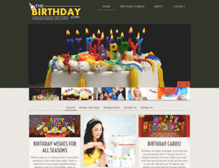 thebirthday.com screenshot