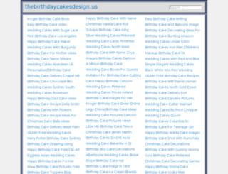thebirthdaycakesdesign.us screenshot