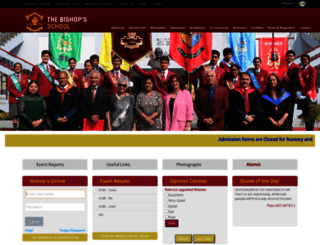 thebishopsschool.org screenshot