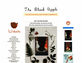 theblackapple.typepad.com screenshot
