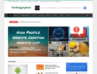 theblogginghub.com screenshot