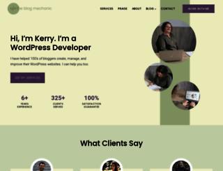 theblogmechanic.com screenshot