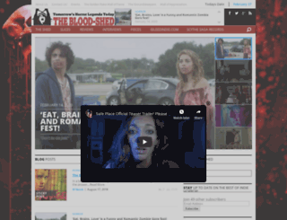 theblood-shed.com screenshot