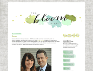 thebloomdiary.blogspot.com screenshot