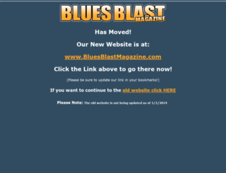 thebluesblast.com screenshot