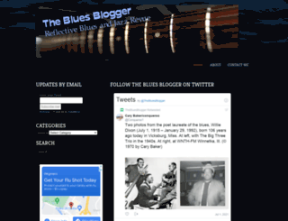 thebluesblogger.com screenshot