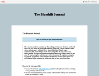 theblueshiftjournal.submittable.com screenshot