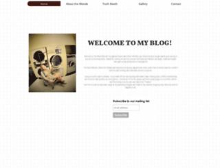 thebluntblonde.freesite.website screenshot