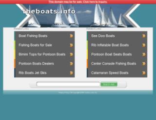 theboats.info screenshot