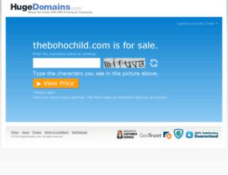 thebohochild.com screenshot
