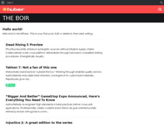 theboir.com screenshot