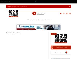 theboneonline.upickem.net screenshot