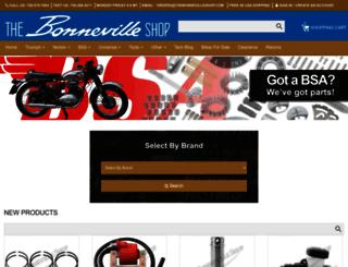 thebonnevilleshop.com screenshot