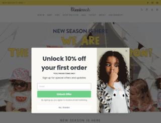 thebonniemob.com screenshot