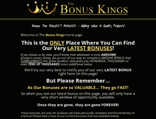 thebonuskings.com screenshot