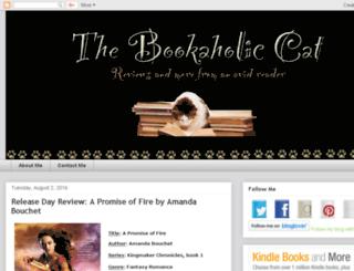 thebookaholiccat.blogspot.com screenshot