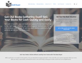 thebookbuyer.co.uk screenshot
