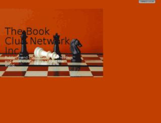 thebookclubnetwork.com screenshot