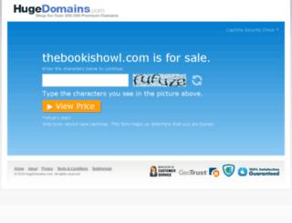 thebookishowl.com screenshot
