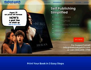 thebookpatch.com screenshot