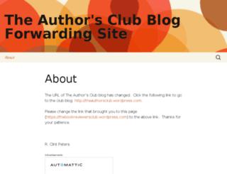 thebookreviewersclub.wordpress.com screenshot