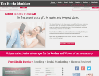 thebooksmachine.com screenshot