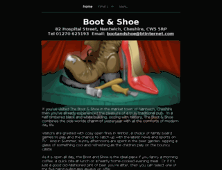 thebootandshoe.com screenshot