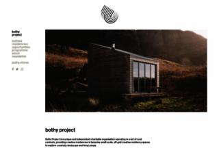 thebothyproject.org screenshot