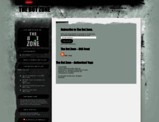 thebotzone.wordpress.com screenshot