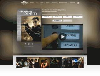 thebourneidentity.com screenshot