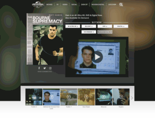 thebournesupremacy.com screenshot