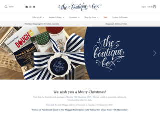 theboutiquebox.com.au screenshot