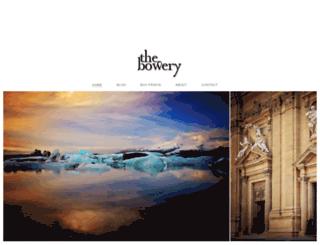 thebowery.co.nz screenshot