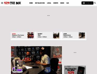 theboxhouston.com screenshot