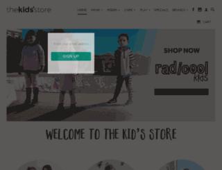 theboysstore.co.nz screenshot