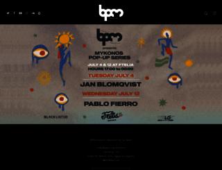 thebpmfestival.com screenshot