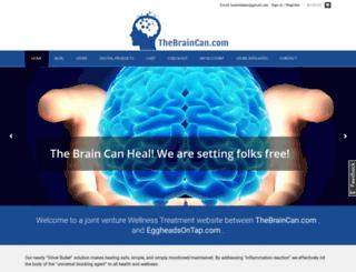 thebraincan.com screenshot