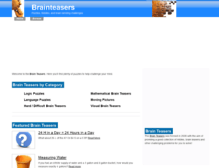 thebrainteasers.com screenshot