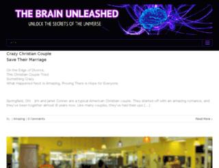 thebrainunleashed.com screenshot