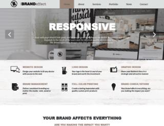 thebrandaffect.com screenshot