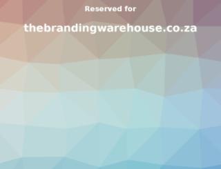 thebrandingwarehouse.co.za screenshot