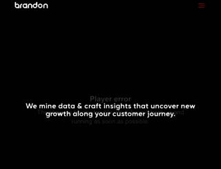 thebrandonagency.com screenshot