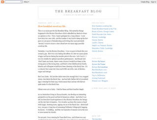 thebreakfastblog.blogspot.com screenshot