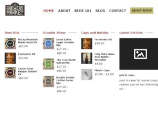thebrewersmarket.com screenshot