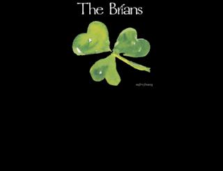 thebrians.com screenshot