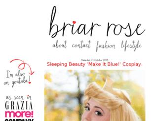 thebriarroseblog.com screenshot