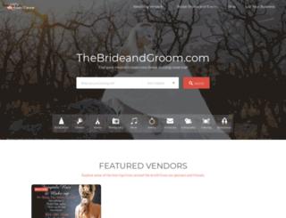 thebrideandgroom.com screenshot