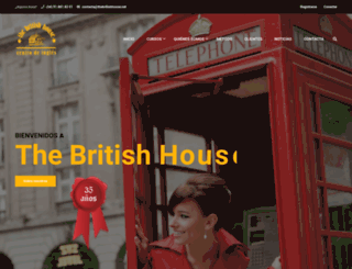 thebritishhouse.net screenshot