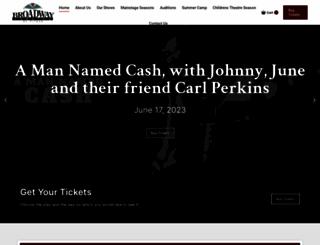 thebroadwaytheatre.org screenshot