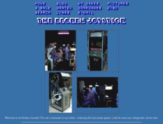 thebrokenjoystick.com screenshot